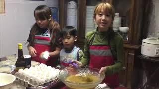 My kids kitchen family