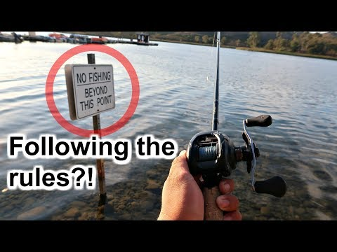 Fishing A Highly Pressured Lake W/ Rodney Marquez (San Diego Fishing)