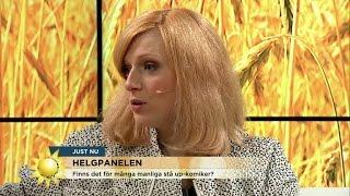 Cissi Wallin fick nog av männen på komikerscenen – debuterade själv - Nyhetsmorgon (TV4)