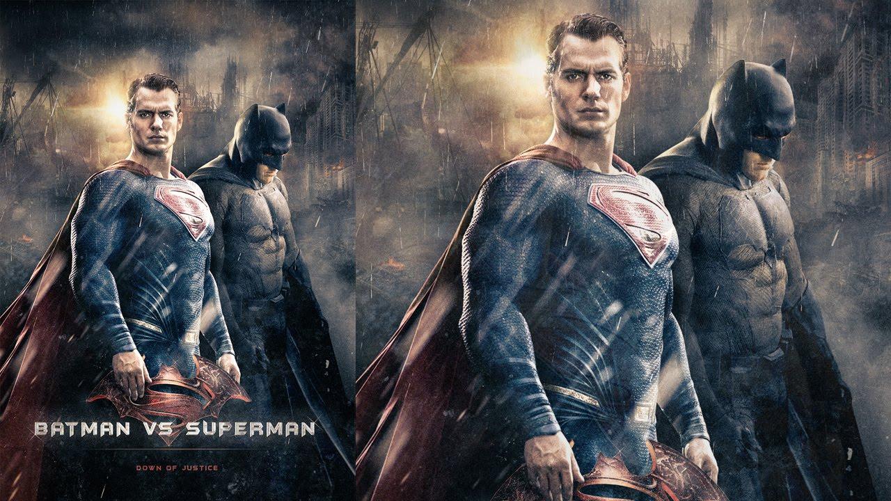 tuto photo manipulation affiche batman v superman avec. Black Bedroom Furniture Sets. Home Design Ideas