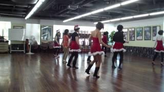 christmas polk line dance