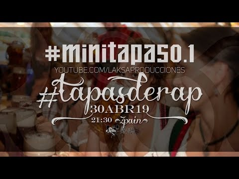 mini #tapasderap HipHop Rap Underground en vivo