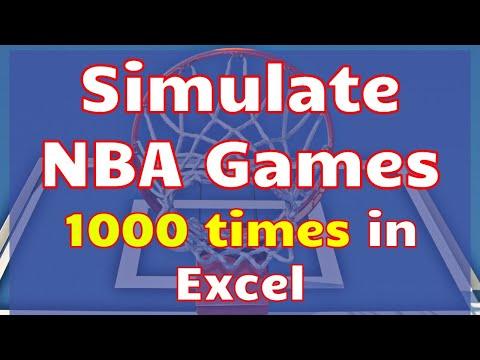NBA game simulator
