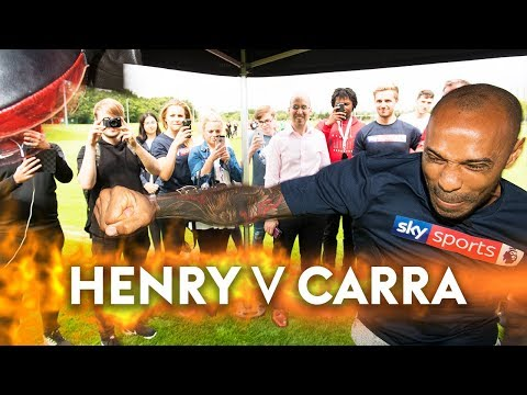 Thierry Henry v Jamie Carragher | The Final Showdown! 👊 🎯