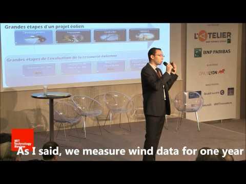 MIT Innovation Awards 2014: Wind Data Generator software presentation