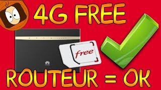 4G FREE : MODE ROUTEUR AUTORISÉ !