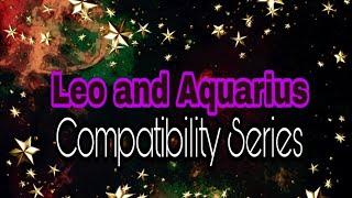 Compatibility male female Leo aquarius and