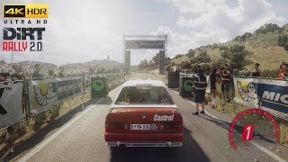 DiRT Rally 2.0 - BMW E30 M3 Evo Rally - Rally Spain Gameplay [4K HDR 60FPS]