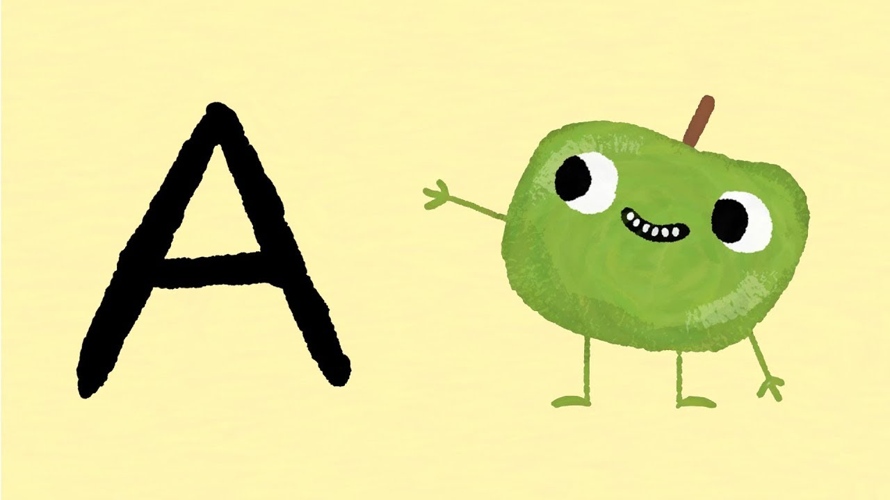 A to Z Fruit Alphabet for kids Learn the Alphabet & names of