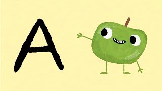 Fruit Alphabet: A to Z of Fruits | Friendly Fruit Characters Discover Alphabetical Letters