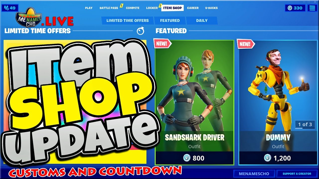 💥Fortnite Item Shop Update 🚖 TAXI emote - 5th August (Fortnite Battle Royale LIVE)