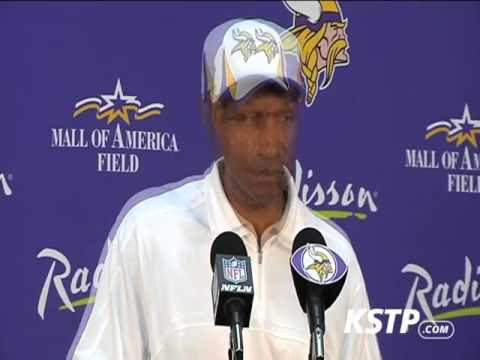 Leslie Frazier and Christian Ponder Talk Playing Packers