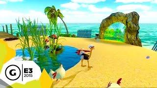 Ostrich Island: Escape from Paradise - E3 2015 Trailer