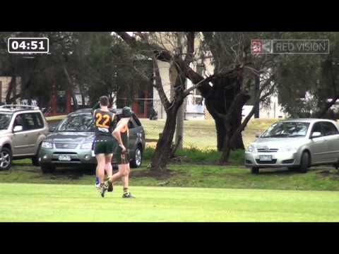 SMJFL 2014 U15 Div 4 - Mt Waverley v Beaumaris Great Whites