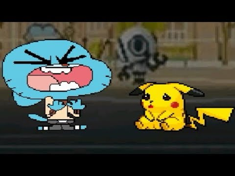 CAT & MOUSE TEAM UP | FUNNY GUMBALL AND CUTE PIKACHU VS. MUGEN CHARACTERS