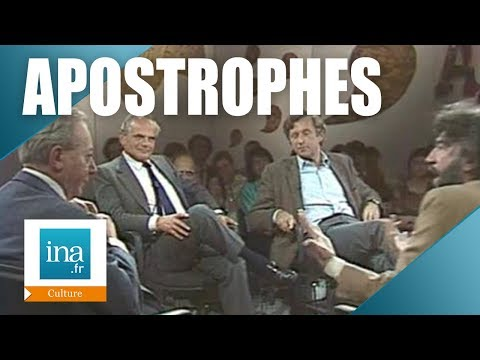 Apostrophes : Alain Robbe-Grillet et Robert Kanters | Archive INA