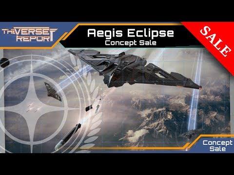 Star Citizen AEGIS Eclipse Concept Sale | Verse Report [Deutsch/German]
