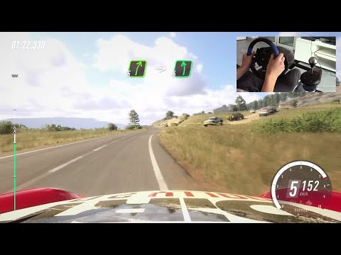 Porsche 911 RGT Rally - Dirt Rally 2.0 - Thrustmaster T150 + TH8A + T3PA