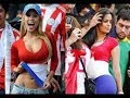 Hottest World Cup Girls Ever Celebration With Fans Football World Cup 2018 Russia