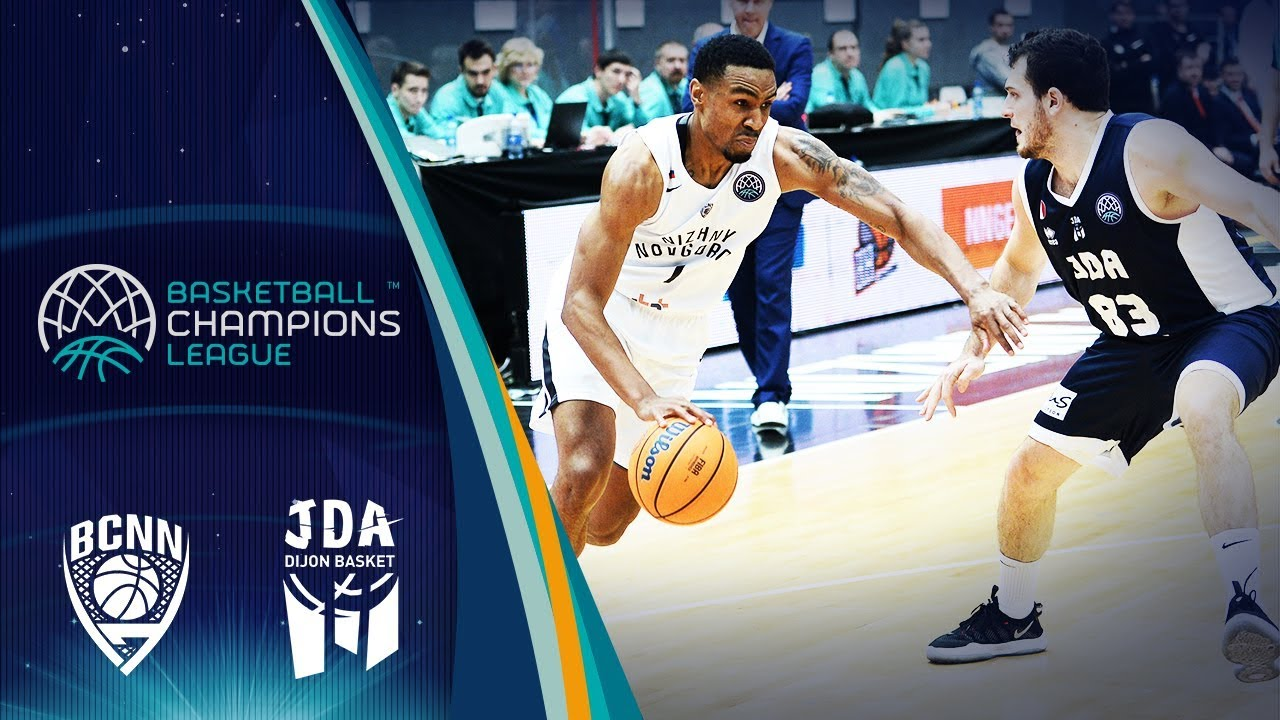Nizhny Novgorod v JDA Dijon - Full Game - Round of 16 - Basketball Champions League 2019