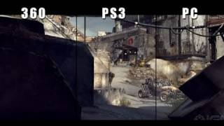 Rage: Xbox 360 vs PS3 vs PC Graphics