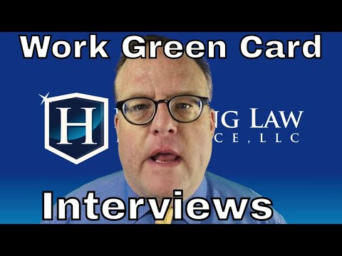 *New* Employment Based GC Interviews!