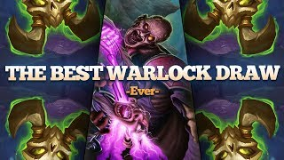 This Guy Had the Best Warlock Draw Ever