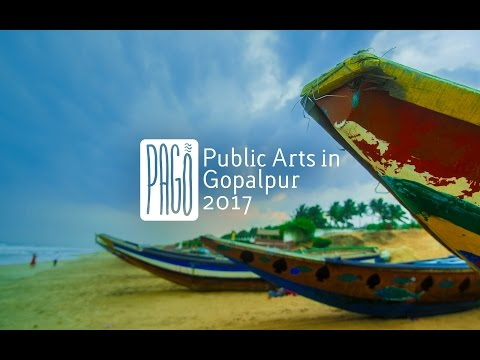 PAGo - Public Arts in Gopalpur 2017