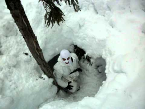 50 ft Snowcave. Arctic Warfare 1