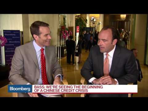 Kyle Bass: Sees Signs of Credit Crisis in China