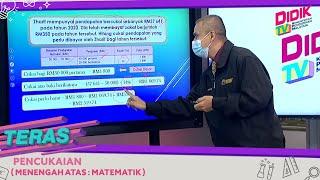 Teras (2021)   Menengah Atas: Matematik – Pencukaian