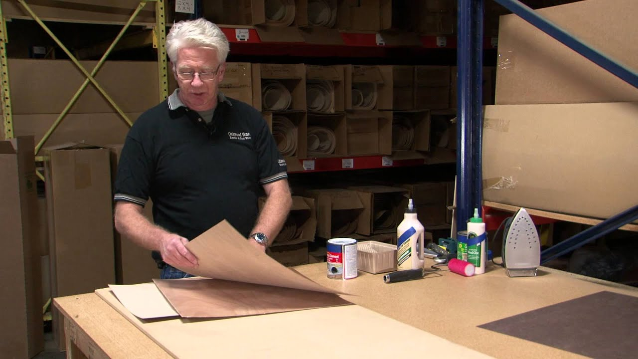 Webisode #7: Learn How to use Contact Cement for Wood Veneer Application