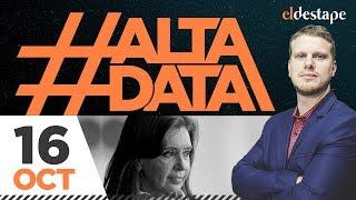 Cristina primera | #AltaData Todo lo que pasa, en un toque. Emisión del 16/10/18