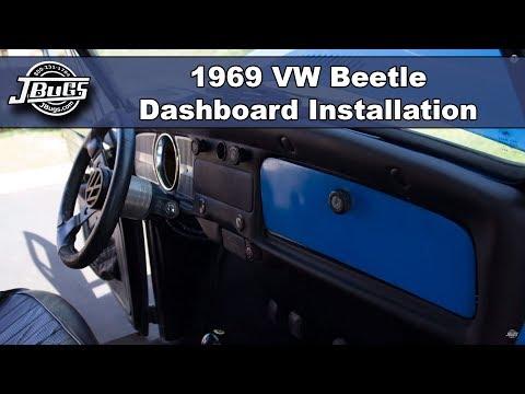 JBugs - 1969 VW Beetle - Dashboard Installation