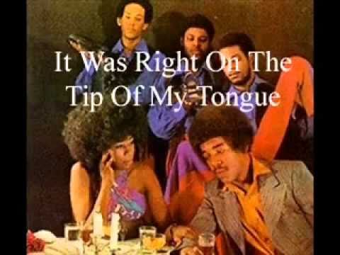 It Was Right On The Tip Of My Tongue - 1971- Brenda and the Tabulations