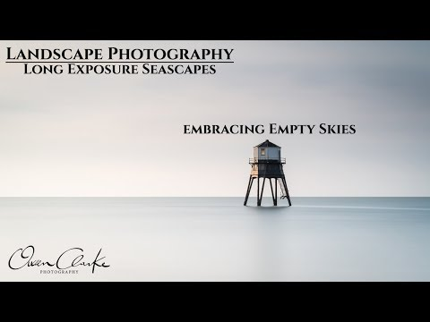 Landscape Photography | Long Exposure Seascapes | Embracing Empty Skies : Dovercourt Lighthouse