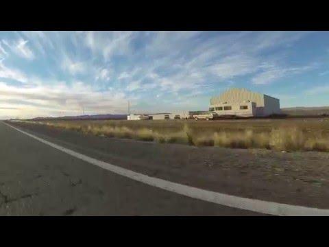 Mile Marker 36 south on U.S. Route 93 toward Kingman, Arizona, 19 December 2015, GP030062