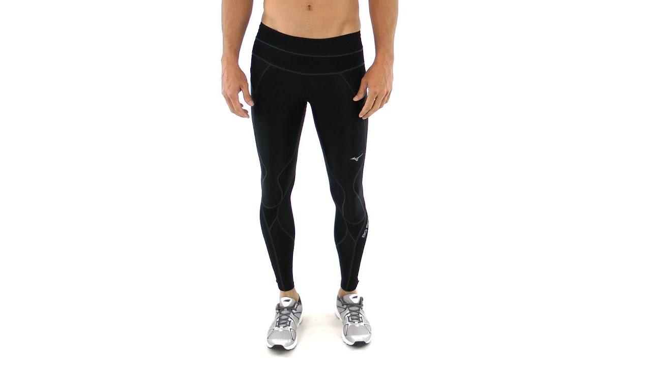 mizuno mens running tights