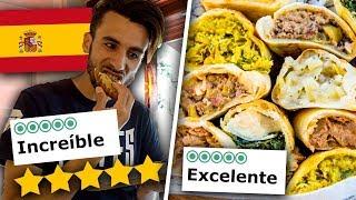 🍔🍟 MANGIO nel FAST FOOD MEGLIO VALUTATO di MADRID! *da brividi*