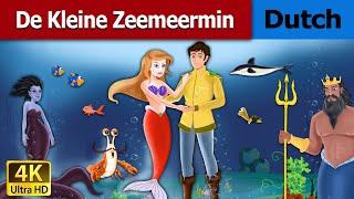 De Kleine Zeemeermin | Little Mermaid in Dutch | 4K UHD | Dutch Fairy Tales