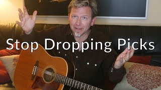 Stop Dropping Your Guitar Picks - Guitar Discoveries #4