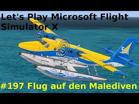 let 39 s play microsoft flight simulator x teil 197 flug auf den malediven twin otter ext by. Black Bedroom Furniture Sets. Home Design Ideas