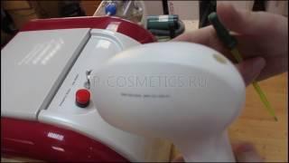 Обзор лазерного аппарата для эпиляции Honkon FL Часть 1