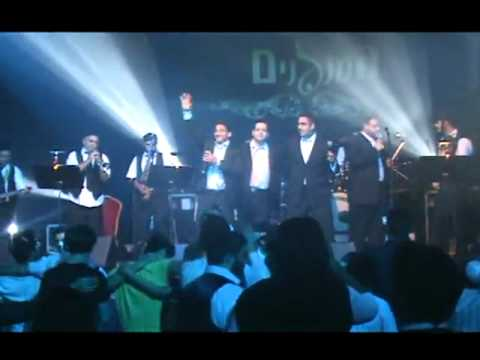 'המנגנים' בפריז 2010 | HaMenagnim ft. Gabey, Yeedle, YC Swekey & Orlev Live in Paris