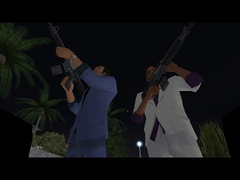 GTA Vice City | Back To The 80's Mod | Rub Out | With Miami Vice Score | 1080p