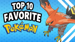 Top 10 Favorite Pokemon Of All Time