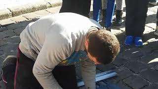 Львів , вуличні художники