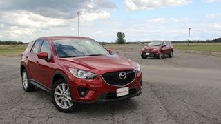 2013 Toyota RAV4 vs 2014 Mazda CX-5 - Track Comparison