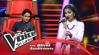 Thashmi Suduwella - Pathini (පතිනි) | Blind Auditions | The Voice Sri Lanka Thumbnail