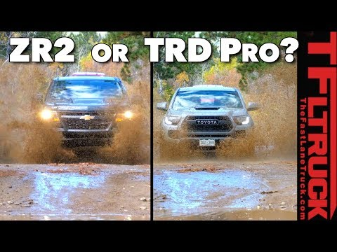 Watch Before You Buy: Colorado ZR2 vs Tacoma TRD Pro TFL Expert Buyer's Guide